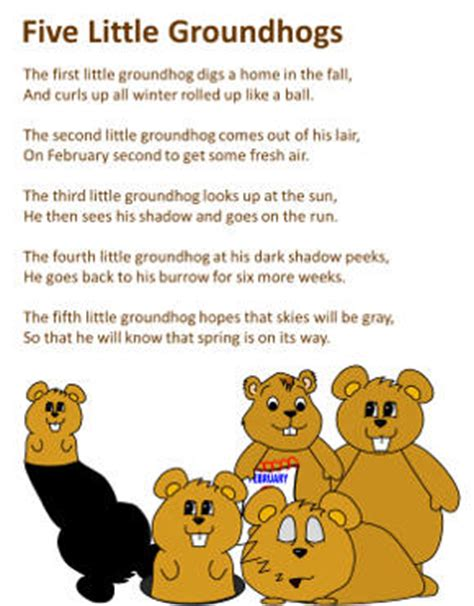 groundhog day poem groundhogs day word search puzzles dltk kidscom