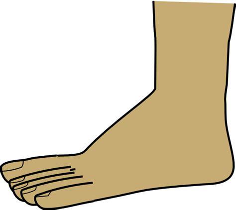 foot clip foot clip at clker vector clip