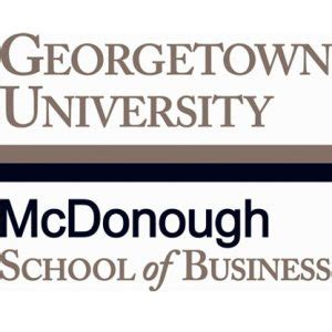 Georgetown Mcdonough Mba Deadlines by Business School Admissions Mba Admission