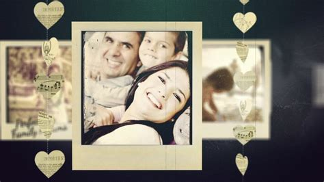 templates after effects slideshow adagio sentimental video slideshow after effects template