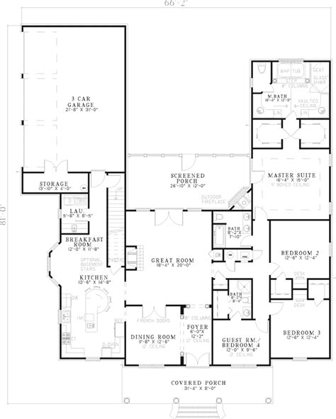 southern style floor plans meursault southern style home plan 055d 0592 house plans