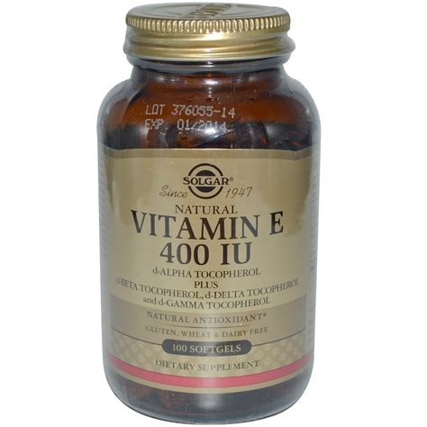 vitamin d l reviews solgar natural vitamin e 400 iu d alpha tocopherol