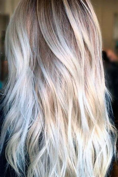 best clothing colors for platinum hair trendy hair color try platinum blonde hair shade if you