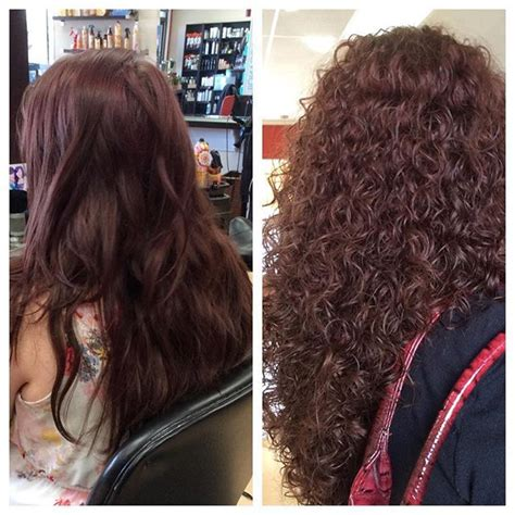 perms before and after very pretty spiral perm before and after hair