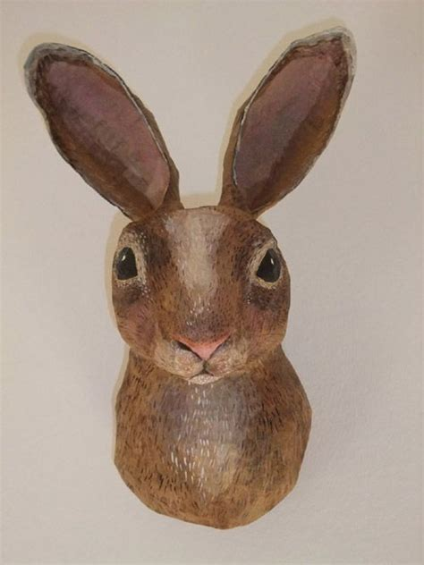 How To Make A Paper Mache Rabbit - 126 best images about papier mache on paper