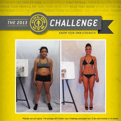 golds fitness challenge quot i joined the challenge because i refused to purchase