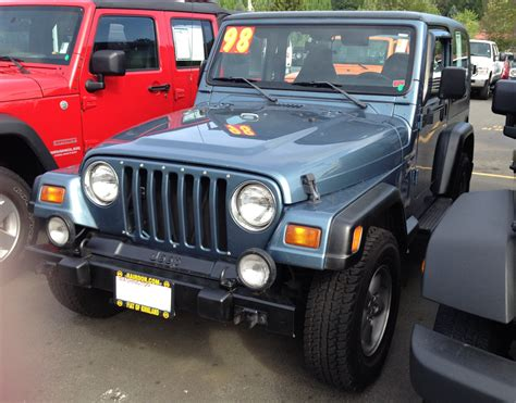 gunmetal 1998 jeep wrangler paint cross reference