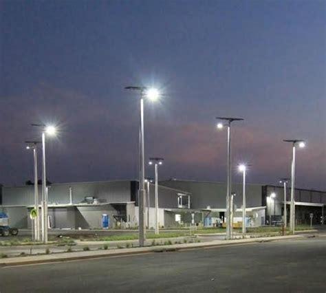 solar light projects australia s largest solar lighting project gets green