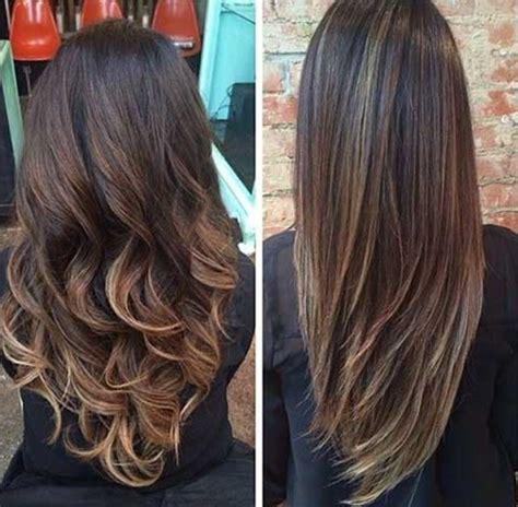 Haarschnitt Lange Haare by V Schnitt F 252 R Lange Haare
