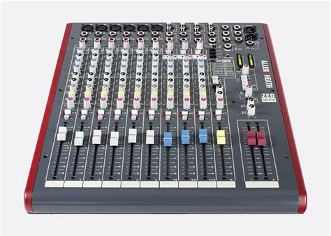 Mixer Zed allen heath zed 22fx mixer 16x mic line 3x stereo fx unit usb i o l r 3x aux out software