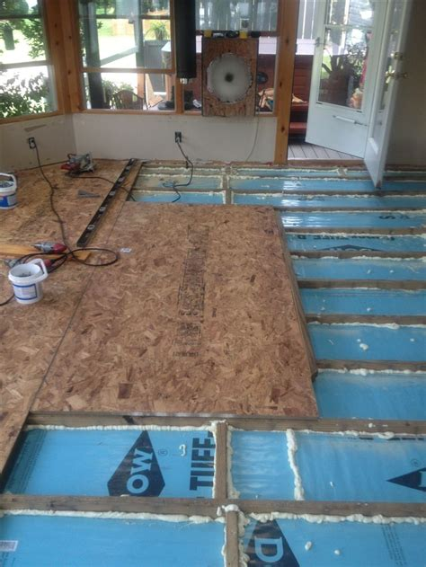 25 best ideas about floor insulation on tiny