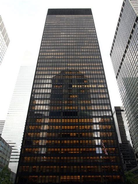 ludwig mies van der rohe the seagram building new york pbs lists top ten buildings that changed america archdaily
