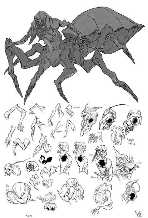 ArtStation - spider man, David Sequeira   creature design