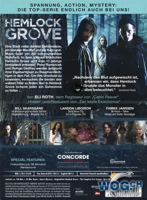 Hemlock Grove 1 hemlock grove staffel 1 box 4 dvds dvd filme world