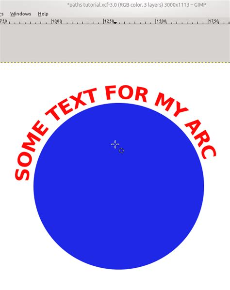 gimp tutorial text in a circle linux using gimp to wrap text in an image ryan and debi