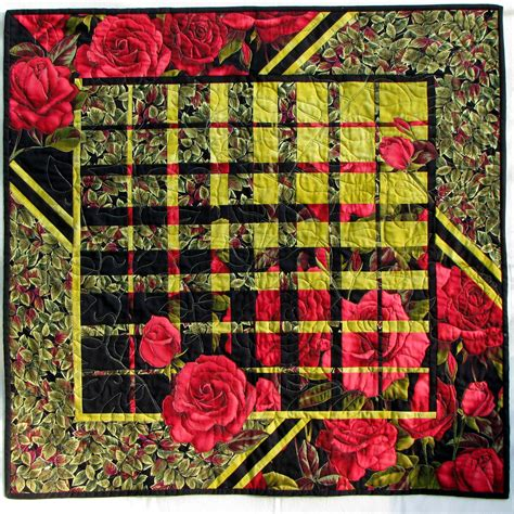 Convergence Quilt by Roses Converging Quilt With Us Harmonic Convergence