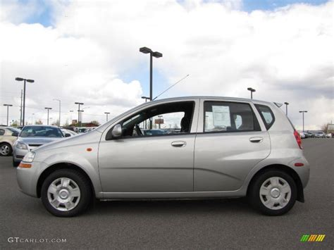 2004 galaxy silver metallic chevrolet aveo hatchback 29669251 gtcarlot car color galleries