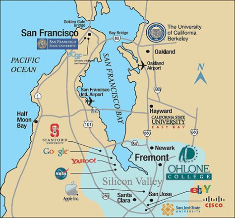 airports in san francisco map ohlone college san francisco sf bay area map