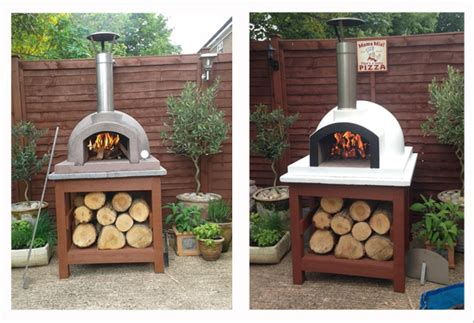 primo 60 wood fired pizza oven by the stone bake oven mr serino uses high heat paint to customise his primo 60