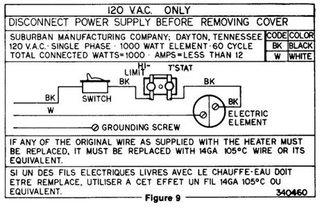 atwood water heater wiring diagram 115v atwood water