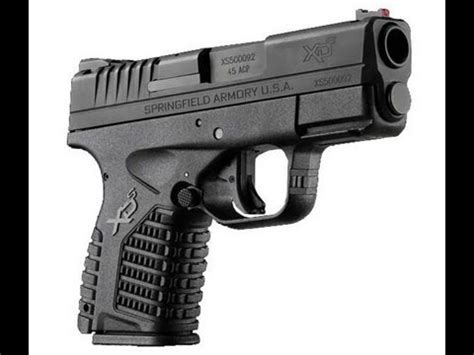 best handgun 45acp concealed carry springfield xds review range time 45 acp concealed