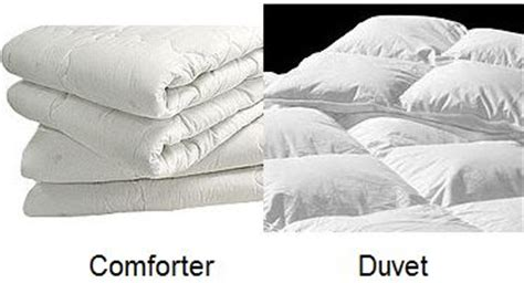 difference between comforter and duvet duvet vs comforter what is the difference