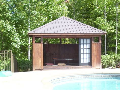 Tea House Pool Cabana   Asian   Landscape   Raleigh   by