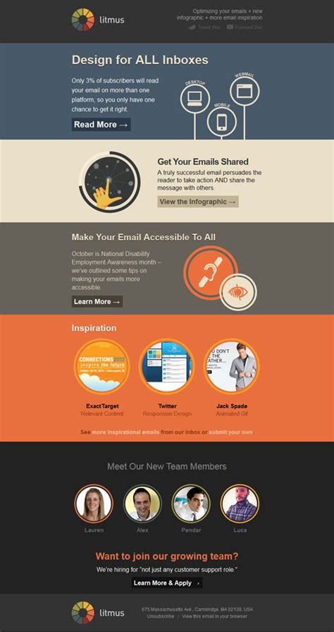 Utilizing Newsletter Exles For Businesses Bambu By Sprout Litmus Newsletter Templates