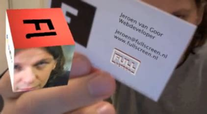 how to make augmented reality cards 3d business cards augmented reality