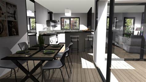 maison avec patio central plan de maison avec patio central trendy plan de maison