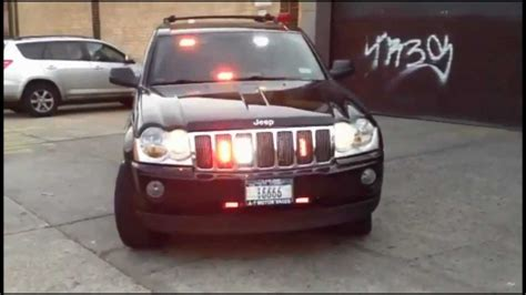 jeep grand lights jeep grand loaded with emergency lights
