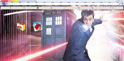 Theme Chrome Doctor Who | doctor who google chrome theme by nessieleigh on deviantart