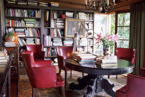 creating a home library that s smart and pretty choosing home library paint colors lighting more
