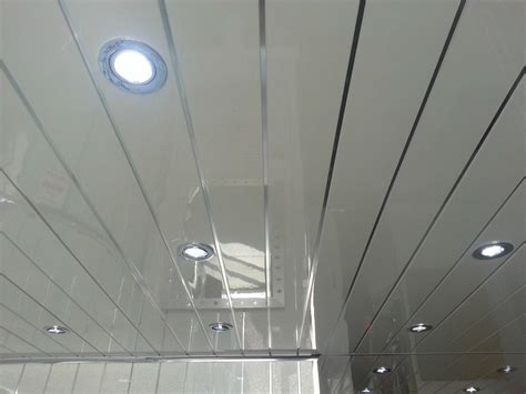 plastic bathroom ceiling cladding 4 twin chrome pvc ceiling cladding panels decor cladding