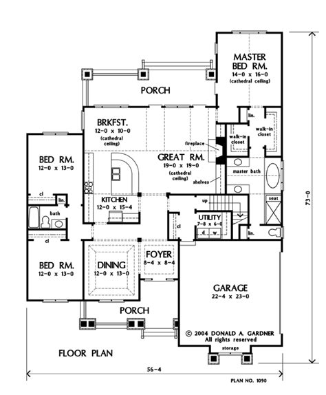 donald gardner floor plans house plan the summerhill by donald a gardner architects