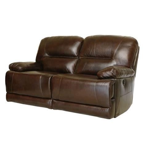 abbyson living reclining sofa abbyson living rio reclining hand rubbed leather loveseat