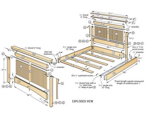 woodworking plans beds teds woodworking plan furniture design