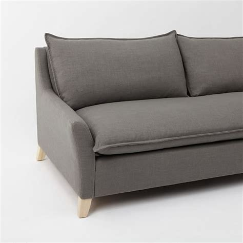 west elm sleeper sofa bliss sleeper sofa west elm