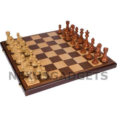 wooden chess set wooden chess set deals on 1001 blocks