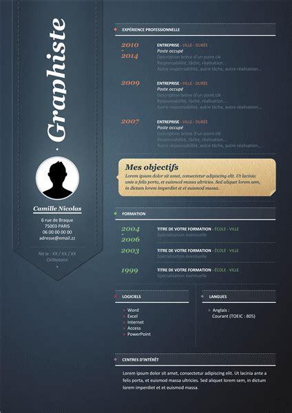 Creative Office Design by Telecharger Le Modele Environ Cv Word Gratuit