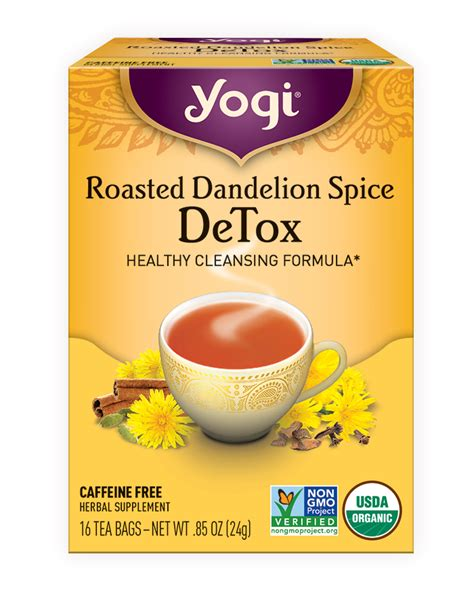 Detox With Black Coffee by Roasted Dandelion Spice Detox Yogi Tea