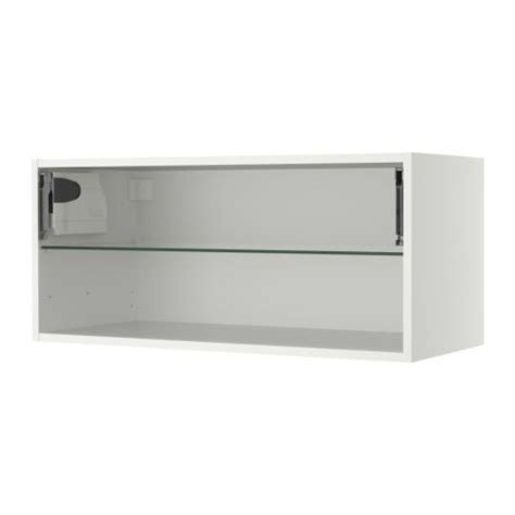 horizontal kitchen wall cabinets faktum horizontal wall cabinet frame 92x40 cm ikea