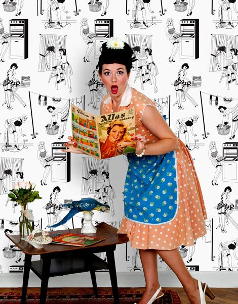 50s housewife 50 s housewives wallpaper