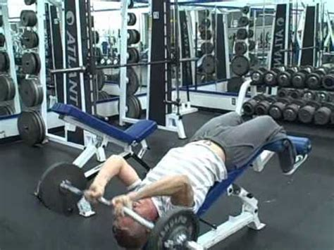 incline bench skull crushers gallery incline bench skull crushers