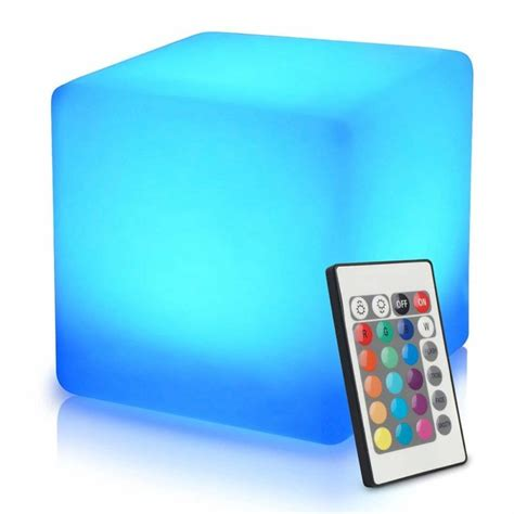 led light cube stool 10 best garden stool reviews stylish and practical