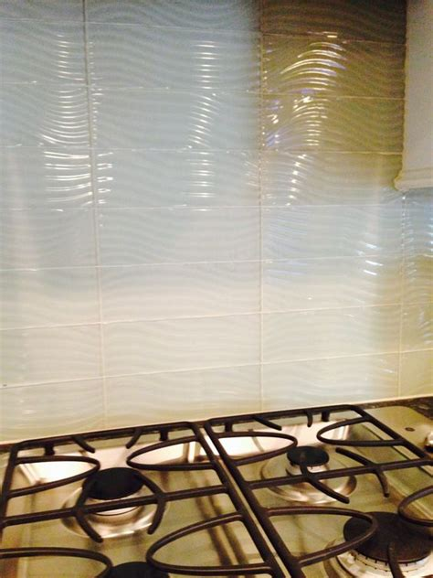 steel glass tiles and built ins on
