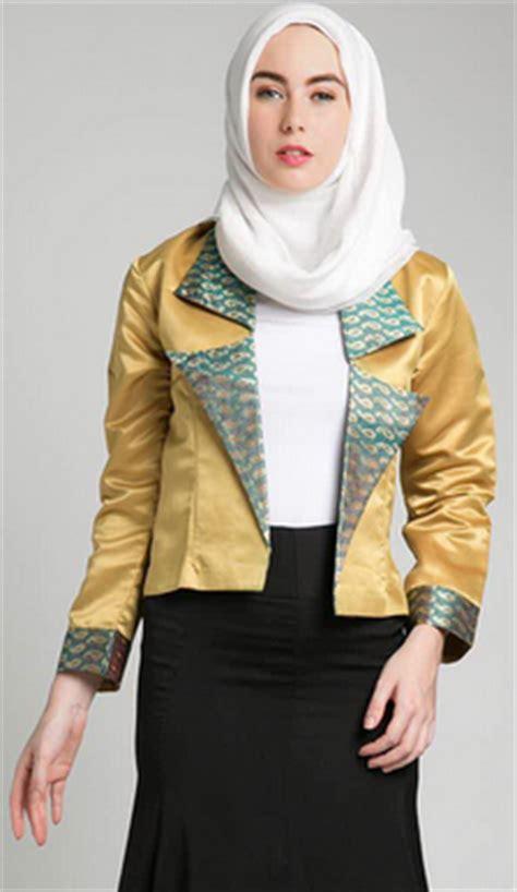 Baju Muslim Wanita Karir aneka contoh desain baju kerja muslim terbaru 2017