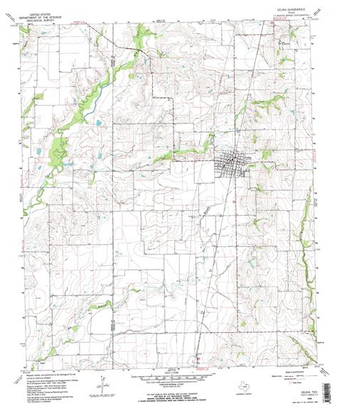 celina texas map celina topographic map tx usgs topo 33096c7