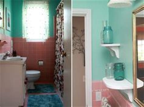 teal and pink bathroom 1000 images about what to do with a 50 s pink bathroom on pinterest pink bathrooms