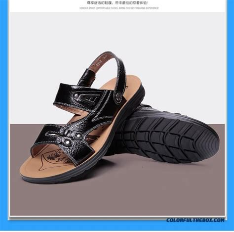 cheap summer sandals cheap s leather layer of leather sandals summer